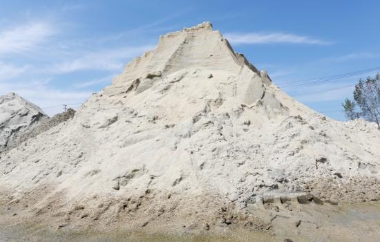 堆積土砂搬出 固化事業